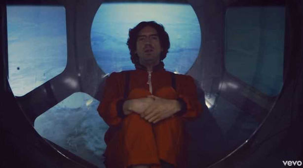 Gary Lightbody in Snow Patrol's new video for Life on Earth