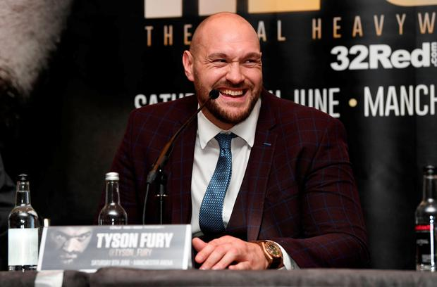 Tyson Fury taunts Anthony Joshua: I would beat him TOMORROW