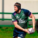Connacht's Eoin McKeon in action during squad training at the Sportsground, Galway. Photo: Paul Mohan/SPORTSFILE
