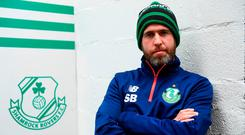 Shamrock Rovers manager Stephen Bradley. Photo: Sam Barnes/Sportsfile