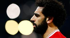 Liverpool's Mohamed Salah. Photo: Reuters/Jason Cairnduff