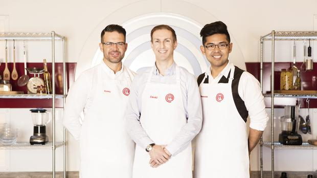 The MasterChef final will be an all-male affair (BBC)
