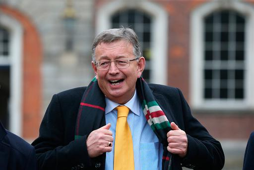 Solicitor Gerard Kean at the Disclosures Tribunal in Dublin Castle. Photo: Stephen Collins