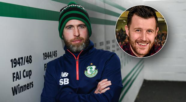 Alan Cawley (inset) feels the goalkeeping situation at Rovers could cost Stephen Bradley his job