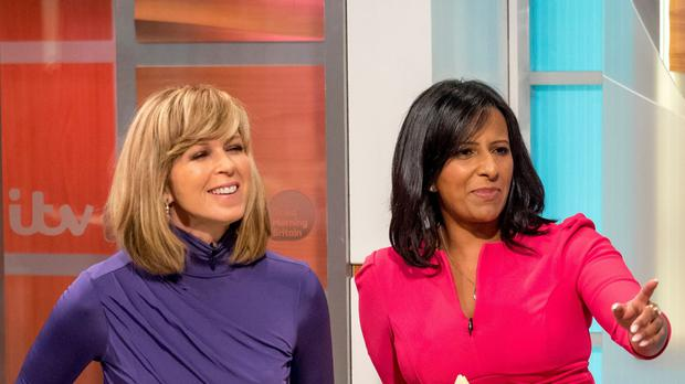 Kate Garraway and Ranvir Singh (REX)