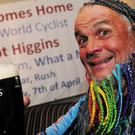 Dermot 'Dermo' Higgins enjoys a well-earned pint