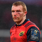 Keith Earls was crowned as Munster's Player of the Year. Photo: Sportsfile