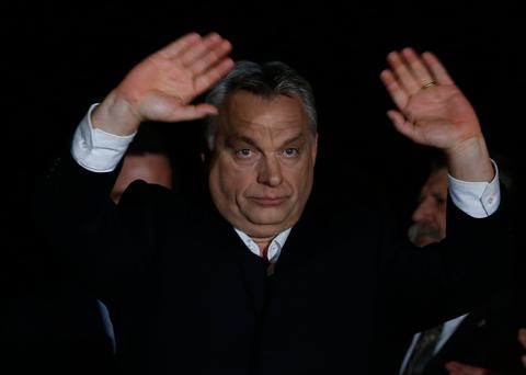 Mass Protests in Budapest Against Re-Election of Orban to a Third Term