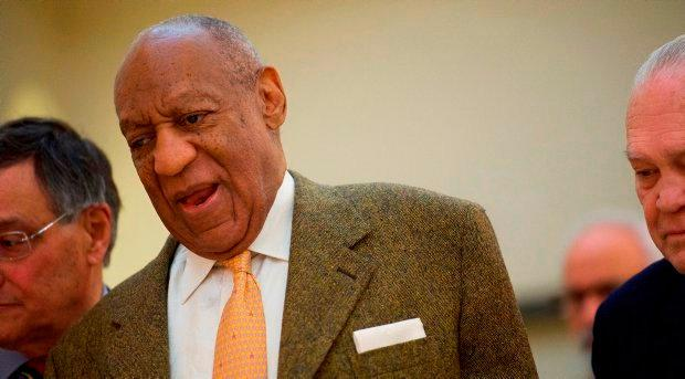 Bill Cosby, the avuncular father of 'The Cosby Show', has been portrayed as a sexual predator and rapist during model Janice Dickinson's evidence at the Montgomery County Courthouse. Photo: Mark Makela/Pool via Reuters