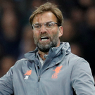 Jurgen Klopp and Liverpool face Roma in the last four. Photo: Reuters