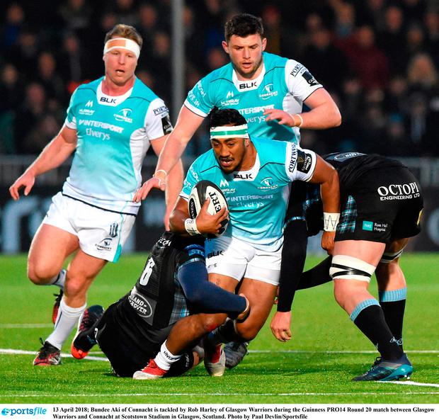 Connacht Comfortably Beaten As Glasgow Secure Home Semi