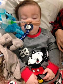 Family handout photo of brain-damaged boy Alfie Evans. Photo credit: Alfies Army/Facebook/PA Wire