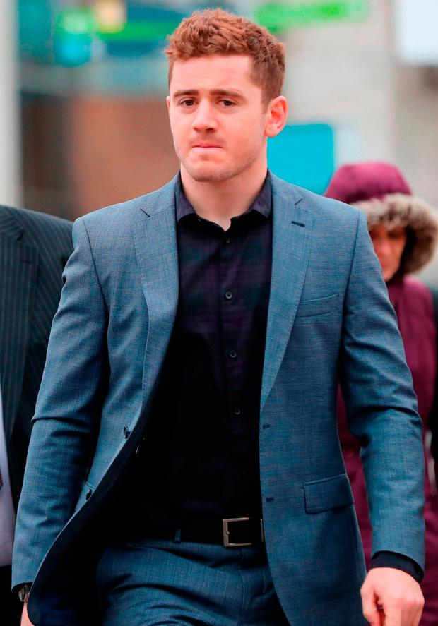 Paddy Jackson's future has been reviewed by the IRFU after a nine-week trial found him not guilty of rape. Photo: Niall Carson/PA