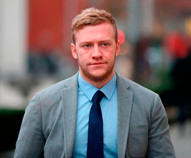 Stuart Olding has been the subject of a review by the IRFU after a nine-week trial found him not guilty of rape. Photo: Niall Carson/PA
