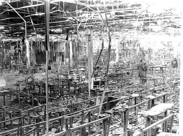 The scene of the 1981 tragedy at the Stardust nightclub