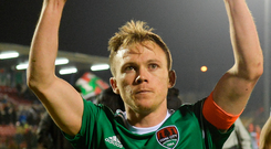 Cork City captain Conor McCormack. Photo: Sportsfile