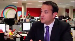 The clip of Taoiseach Leo Varadkar used in a social media campaign video for the Save The 8th campaign