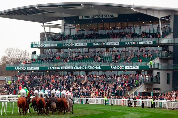 The Grand National is off at 5.15