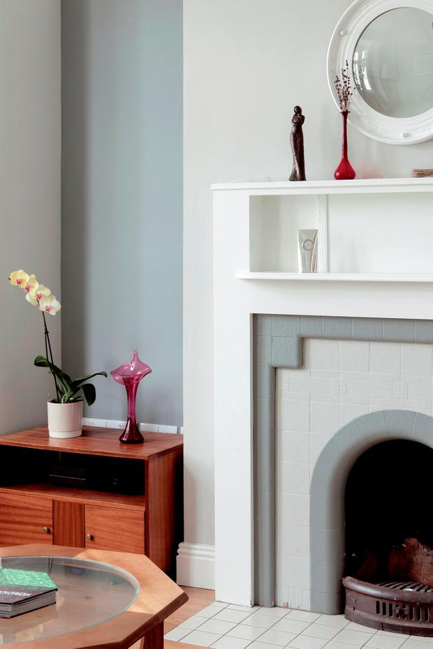 A budget-saving fireplace