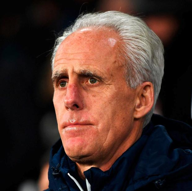 Former Ipswich boss Mick McCarthy. Photo: Gareth Copley/Getty Images