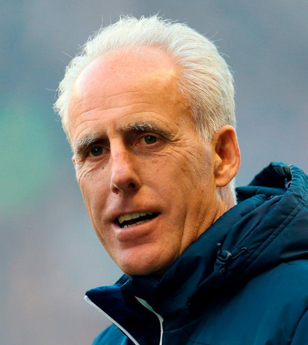 Mick McCarthy. Photo: Chris Radburn/PA Wire.