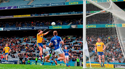 'I thought the days of eight-goal games were only going to be seen in old news reels when players wore caps and nailed the cogs into their boots'. Photo: Stephen McCarthy/Sportsfile