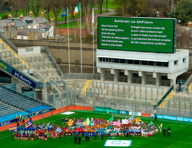 If we continue as we are doing, like rugby and soccer we will become a spectator sport'. Photo: David Maher/Sportsfile