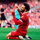 Liverpool's Mohamed Salah. Photo: Anthony Devlin/PA Wire