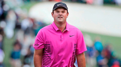 It's sad to see Patrick Reed's private life being treated as though all the people involved are are soap opera characters rather than flesh and blood human beings. Photo: Reuters