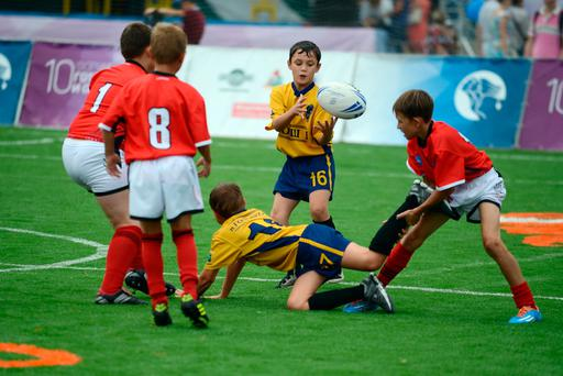 PARTICIPATION: Concussion risk is similar in all field sports. Stock picture