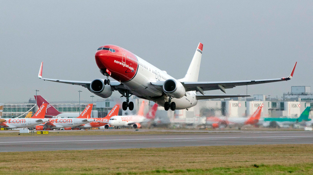 Norwegian enjoyed passenger growth of 14pc last year but is now burning through cash just as it gets transatlantic routes up and running Photo: Bloomberg