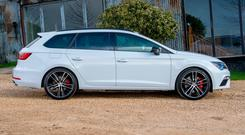 HOLA: The Leon ST Cupra is practical but sporty too and drives like a hot hatchtwo-