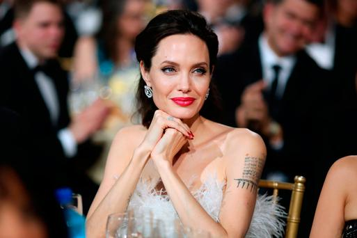 NUMBER ONE: Hollywood actress Angelina Jolie is 'the most admired woman in the world'