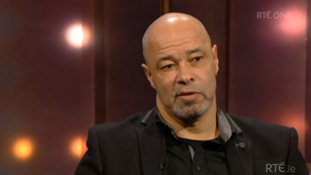 Paul McGrath on The Ray D'Arcy Show