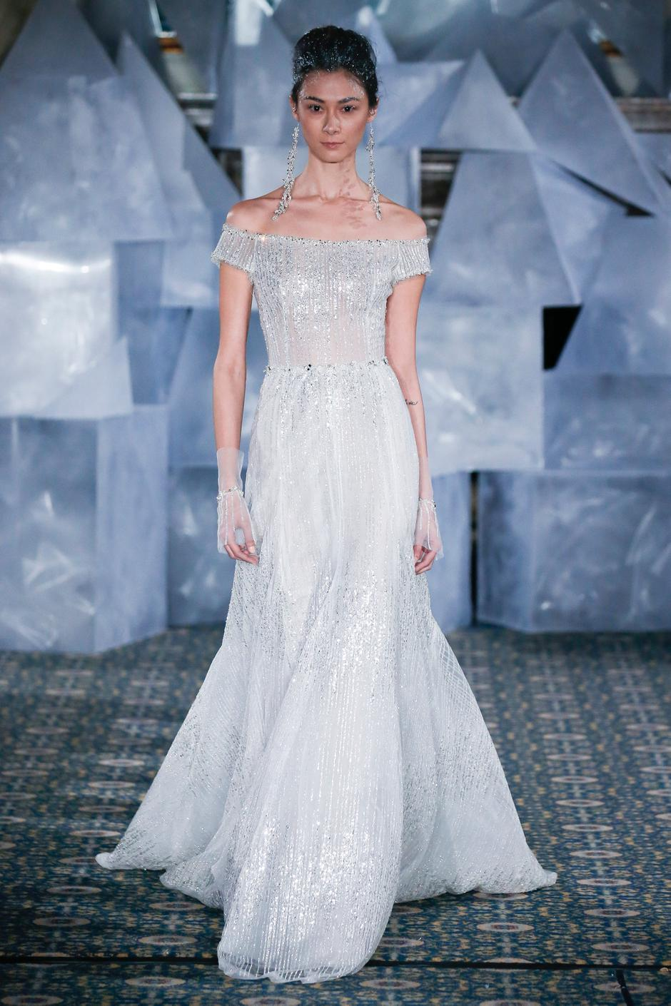 New York Bridal Fashion Week: Mira Zwillinger showcases spring 2019 ...