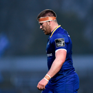 Sean O'Brien of Leinster against Benetton
