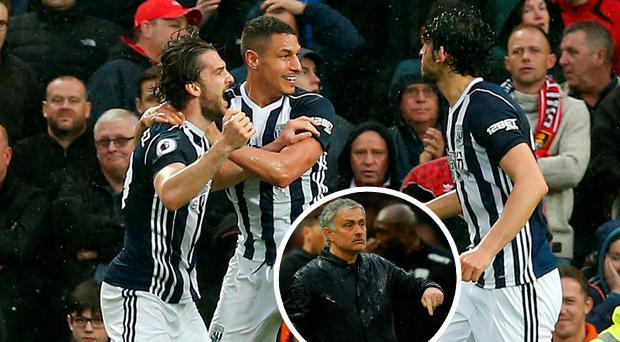 Mourinho slams United's performance after West Brom defeat