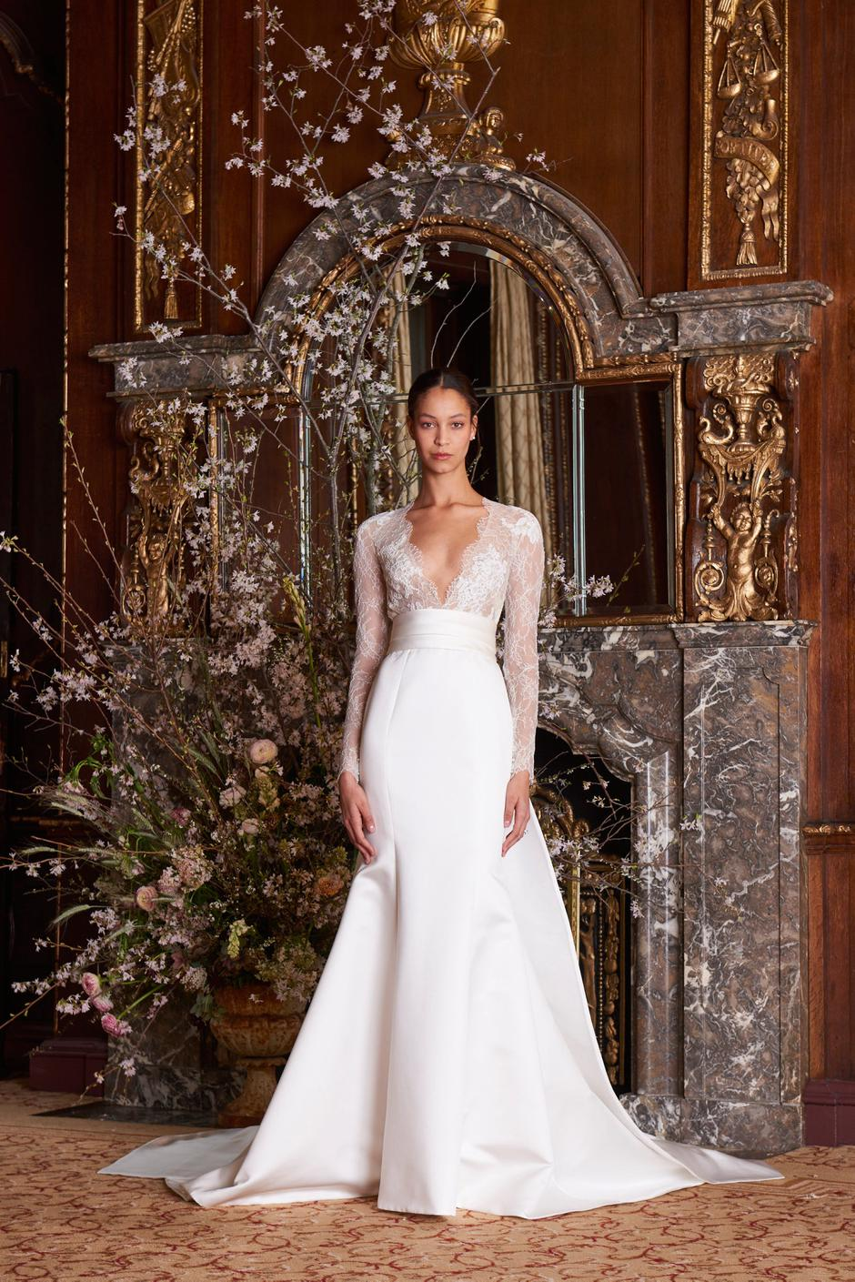 New York Bridal Fashion Week: Wedding dresses for the quintessential ...