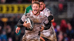 Stuart Olding in action for Ulster