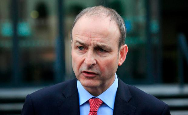 Fianna Fáil party leader Micheál Martin. Photo: Gareth Chaney, Collins