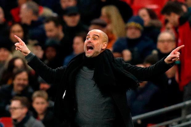 Pep Guardiola's style has been vindicated at Manchester City. Photo: Adrian Dennis/AFP/Getty Images