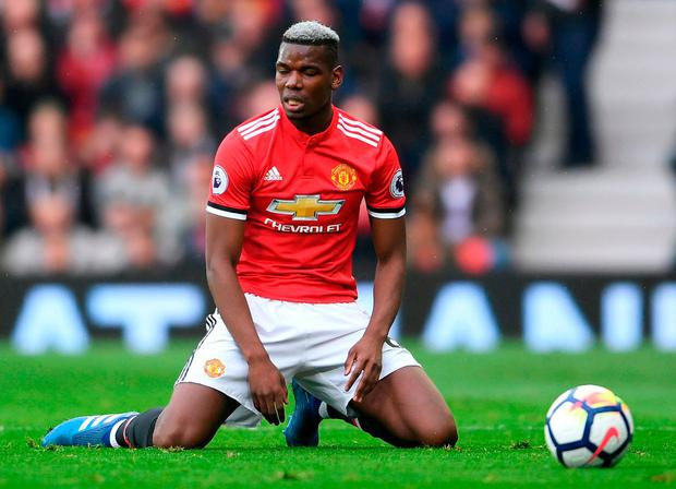 Pogba: Unimpressive. Photo: Laurence Griffiths/Getty Images