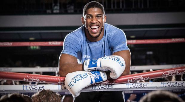 Anthony Joshua to fight Alexander Povetkin at Wembley in September