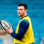 Robbie Henshaw of Leinster ahead of the Guinness PRO14 Round 20 match between Leinster and Benetton Rugby at the RDS Arena in Dublin. Photo by Ramsey Cardy/Sportsfile