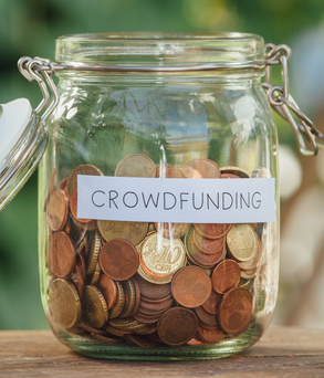Crowdfunding has become very popular for small investors
