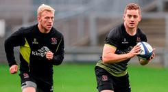 Stuart Olding and Paddy Jackson have had their contracts revoked by the IRFU. Photo: Oliver McVeigh/Sportsfile