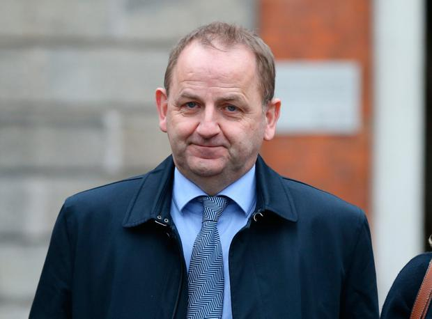 Maurice McCabe pictured at the Disclosures Tribunal in Dublin Castle. Picture: Collins