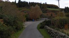 The stretch of Head Road in County Down where the incident happened. Credit: Google Maps
