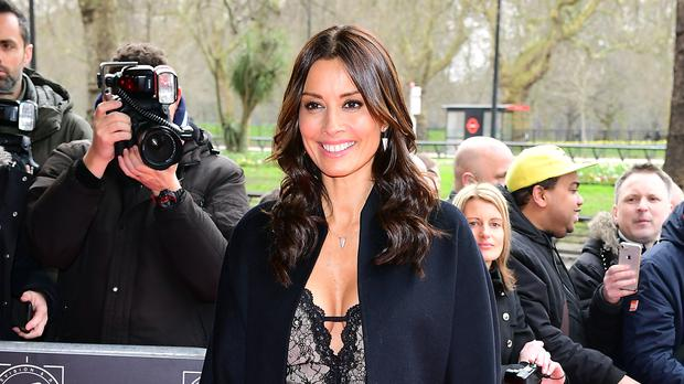 Melanie Sykes urges women to keep fit to reduce breast cancer risk (Ian West/PA)
