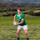 Captain of Irish Women's Rugby team, Ciara Griffin on her farm in Ballymac, Co Kerry.